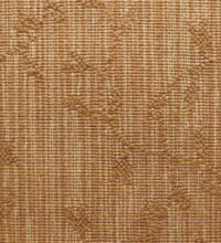Bellbridge Maple Sunset _5121_0566 color swatch. Maple is a textured loop pile wilton fabricated with striated yarns in the background and solid yarns that create a leaf design.